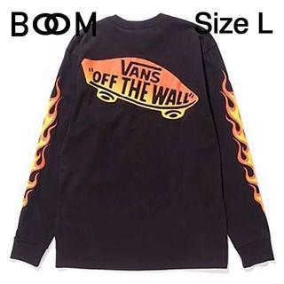 バンズボルト(VANS VAULT)のVANS VAULT × WTAPS Flame L/S Tee Lサイズ(Tシャツ/カットソー(七分/長袖))