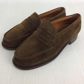 ジェーエムウエストン(J.M. WESTON)のJ.M.WESTON ローファー ブラウン スウェード(ローファー/革靴)