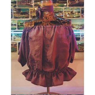 デプト(DEPT)のDEPT offshoulder blouse(シャツ/ブラウス(半袖/袖なし))