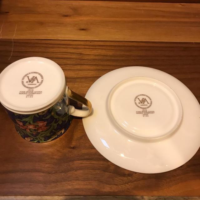 ROYAL ALBERT(ロイヤルアルバート)のビクトリアアルバート カップ&ソーサー VICTORIA&ALBERT  インテリア/住まい/日用品のキッチン/食器(グラス/カップ)の商品写真