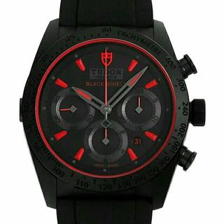 チュードル(Tudor)のチュードル ファストライダー ブラックシールド 自動巻き(腕時計(アナログ))