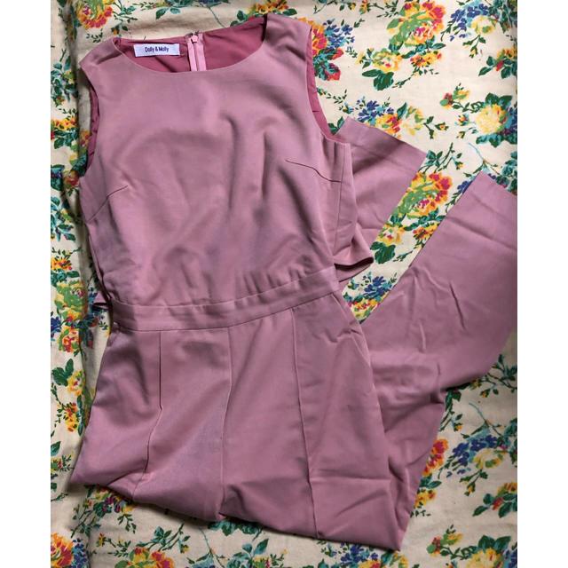 Dolly&Molly(ドリーモリー)のdolly&molly フリルジャンプスーツ レディースのパンツ(オールインワン)の商品写真