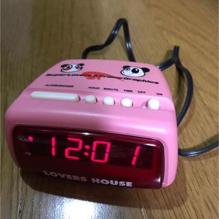スーパーラヴァーズ(SUPER LOVERS)のスーパーラブァーズ 時計(置時計)