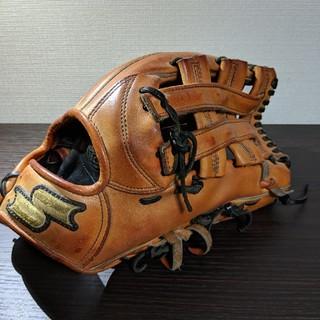 エスエスケイ(SSK)の野球 硬式 外野手用グローブ オレンジ SSK 値下げ不可(グローブ)