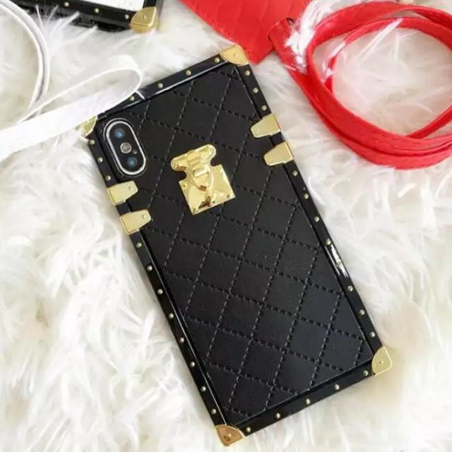 iphone 8 革 ケース - CHANEL - マトラッセiPhoneX/iPhoneXSケース♡ブラックの通販 by ☪︎⋆。˚✩vspink12|シャネルならラクマ