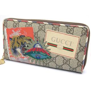 1051c1f7bff4 グッチ(Gucci)のGUCCIグッチ 長財布 クーリエ GGスプリーム キャンバス(長財布