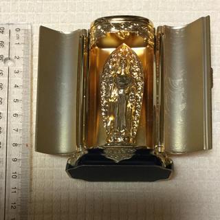 仏像【阿弥陀如来像  厨子入り】10cm ★★美品★★(彫刻/オブジェ)