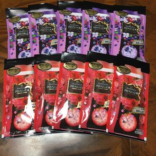 ハピネス(Happiness)のアロマジュエル  試供品  40ml  10袋(洗剤/柔軟剤)