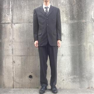 エルメネジルドゼニア(Ermenegildo Zegna)のエルメネジルドゼニア 3つ釦ストライプ柄セットアップ50/スーツ(セットアップ)
