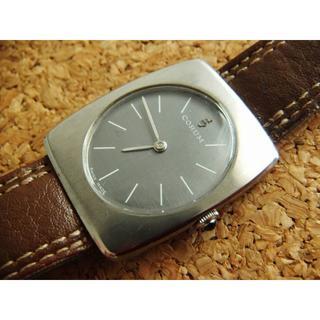 コルム(CORUM)のコルム CORUM アンティークウォッチ 腕時計 70年代初期 手巻き スイス製(腕時計(アナログ))