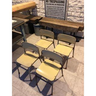 まるお様専用2脚アンティークパイプ椅子(その他)