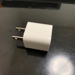 アイフォーン(iPhone)のiPhone アダプタ 純正(変圧器/アダプター)