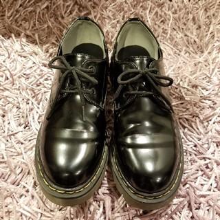 シマムラ(しまむら)のドクター・マーチン風シューズ(ローファー/革靴)