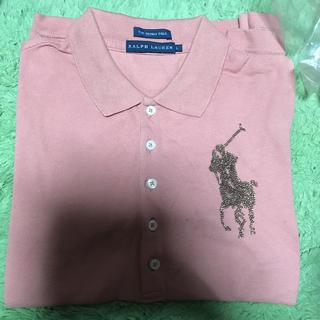 ポロラルフローレン(POLO RALPH LAUREN)のラルフローレンポロシャツレディースL(ポロシャツ)