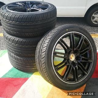 ポルシェ(Porsche)のポルシェ カイエン 955 957 958 20インチ 新品4本タイヤ付き!▼(タイヤ・ホイールセット)