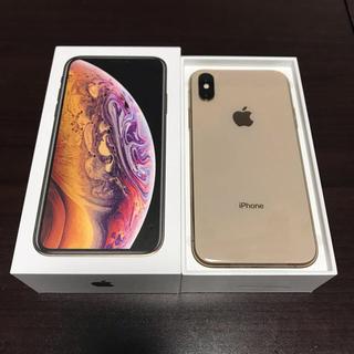 アイフォーン(iPhone)の新品同等品 iphoneXs ゴールド ソフトバンク 256gb(スマートフォン本体)