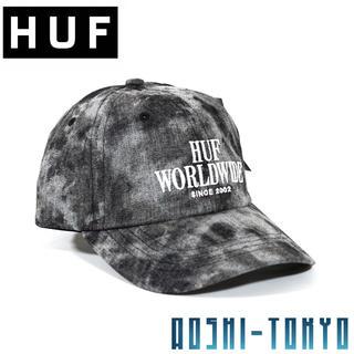 ハフ(HUF)の◆新作◆HUF SERIF STACK カーブキャップ(キャップ)