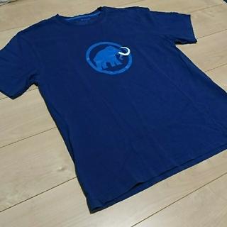 マムート(Mammut)のMAMMUTマムート Tシャツ メンズXL ブルー(Tシャツ/カットソー(半袖/袖なし))