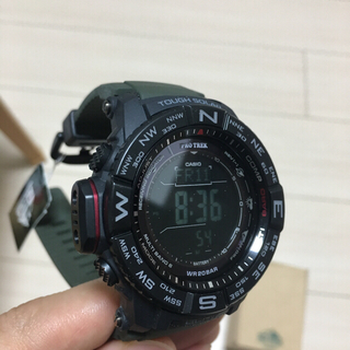 カシオ(CASIO)のFD様専用 日本未発売 新品CASIO プロトレック PRO TREK ソーラー(腕時計(デジタル))