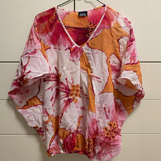 オゾンロックス(OZONE ROCKS)の【OZONE ROCKS】カラフルなプリントトップス(Tシャツ(半袖/袖なし))