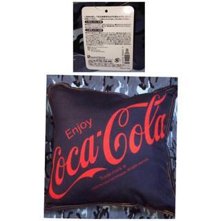 ドウシシャ(ドウシシャ)のコカ コーラ スクエア クッション(日用品/生活雑貨)