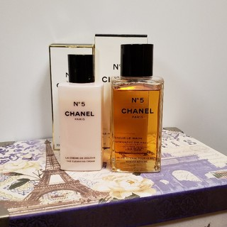 シャネル(CHANEL)のCHANEL No.5 ミルキーバス シャワークリーム(入浴剤/バスソルト)
