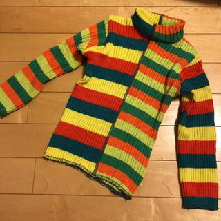 バックアレイ(BACK ALLEY)のバックアレイ ハイネック長袖Tシャツ 95(Tシャツ/カットソー)
