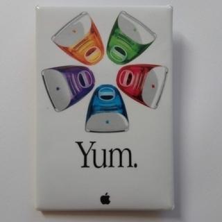 アップル(Apple)のアップル YUMバッジ(ノベルティグッズ)
