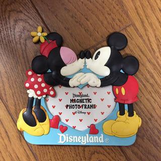 ディズニー(Disney)のミッキー&ミニー フォトフレーム(マグネットタイプ)(フォトフレーム)