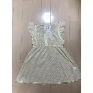 カリアング(kariang)の美品♡カリアング レースカットソー   S(カットソー(半袖/袖なし))