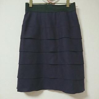 ネットディマミーナ(NETTO di MAMMINA)のティアードスカート(ひざ丈スカート)