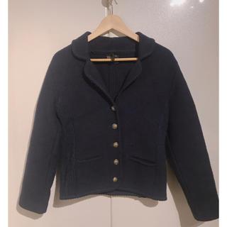 ヴィスヴィム(VISVIM)のジャケット ネイビー ビンテージ 古着(ブルゾン)
