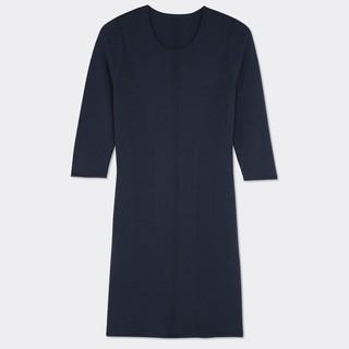 コントワーデコトニエ(Comptoir des cotonniers)のハイゲージメリノウールドレス  Dress コントワーデコトニエ(ひざ丈ワンピース)