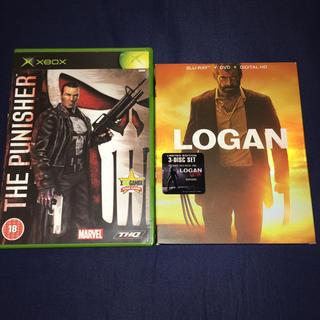 マーベル(MARVEL)のThe PUNISHER XBOX LOGAN Blu-ray(アメコミ/海外作品)