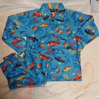 ディズニー(Disney)のカーズ 長袖パジャマ 青 総柄パジャマ サイズ130(パジャマ)