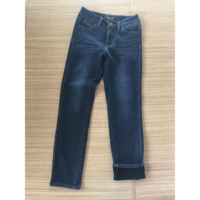しまむら(シマムラ)のしまむら あったか裏地パンツ ウエスト61センチ レディースのパンツ(デニム/ジーンズ)の商品写真