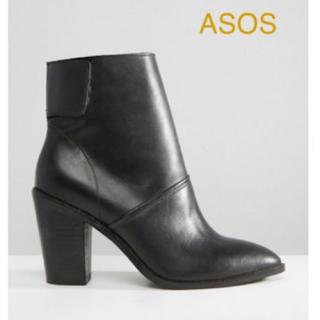 エイソス(asos)のASOS 本革 レザーアンクルブーツ(ブーツ)
