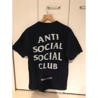 アンチ(ANTI)のASSCネイビーT-shirt(Tシャツ/カットソー(半袖/袖なし))