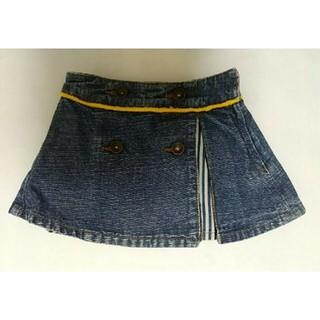 バックアレイ(BACK ALLEY)の☆美品!BACKALLEYバックアレイのデニムスカート90cm☆ブーフーウー(スカート)
