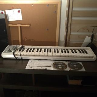 ローランド(Roland)の【Roland】MIDIキーボード・コントローラーA-49 ホワイト DTM(MIDIコントローラー)