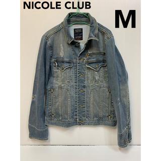ニコルクラブフォーメン(NICOLE CLUB FOR MEN)のNICOLE ニコルクラブ デニムジャケット(Gジャン/デニムジャケット)