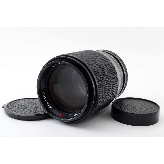 【美品】コンタックス レンズ T 135mm F2.8 AE #381880 スマホ/家電/カメラのカメラ(レンズ(ズーム))の商品写真