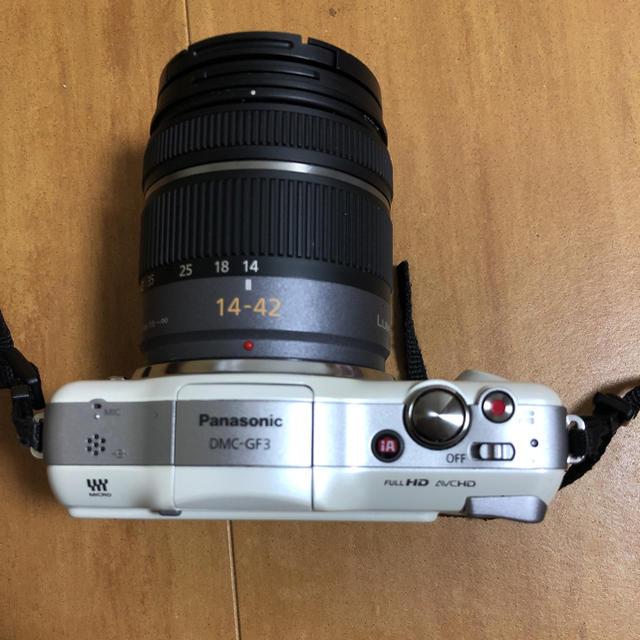 OLYMPUS(オリンパス)のパナソニック LIUMIX GF3 ミラーレス一眼カメラ スマホ/家電/カメラのカメラ(ミラーレス一眼)の商品写真