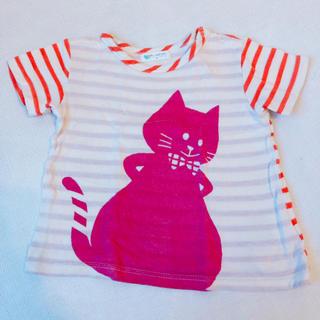 チアー(CHEER)のBABY CHEER 猫Tシャツ 100cm(Tシャツ/カットソー)