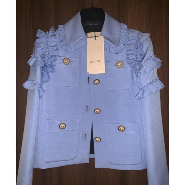 Gucci(グッチ)のGUCCI ジャケット レディース レディースのジャケット/アウター(ノーカラージャケット)の商品写真