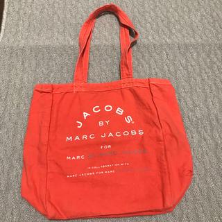 マークバイマークジェイコブス(MARC BY MARC JACOBS)のマークバイマークジェイコブス トート バッグ エコバッグ オレンジ 美品(エコバッグ)