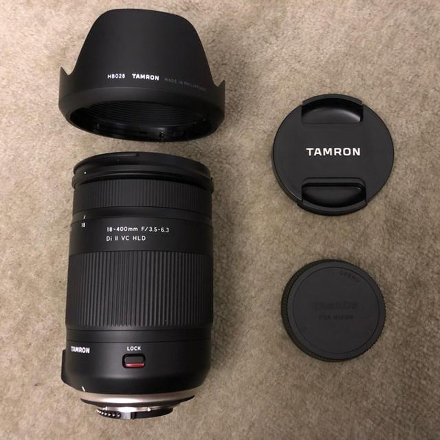TAMRON(タムロン)のメーカーアウトレット新品 tamron 18-400mm VC  ニコン用 スマホ/家電/カメラのカメラ(レンズ(ズーム))の商品写真