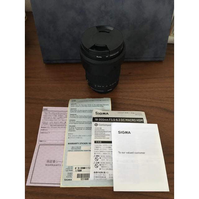 SIGMA シグマ 高倍率ズームレンズ 18-300mm スマホ/家電/カメラのカメラ(レンズ(ズーム))の商品写真