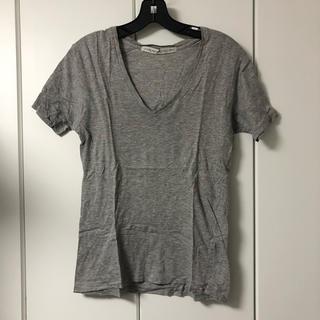 ジョンローレンスサリバン(JOHN LAWRENCE SULLIVAN)のジョンローレンスサリバン Tシャツ グレー 36(Tシャツ/カットソー(半袖/袖なし))