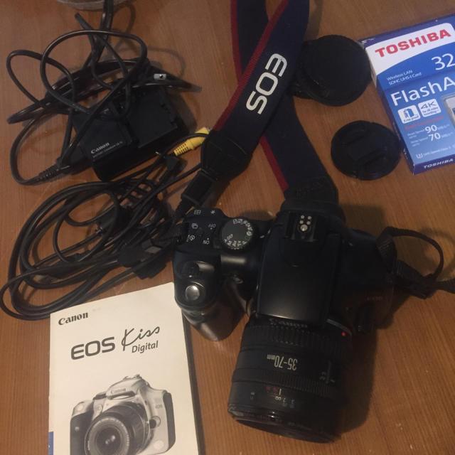 Canon(キヤノン)のCanonEOS kiss Digital   セール!! スマホ/家電/カメラのカメラ(デジタル一眼)の商品写真